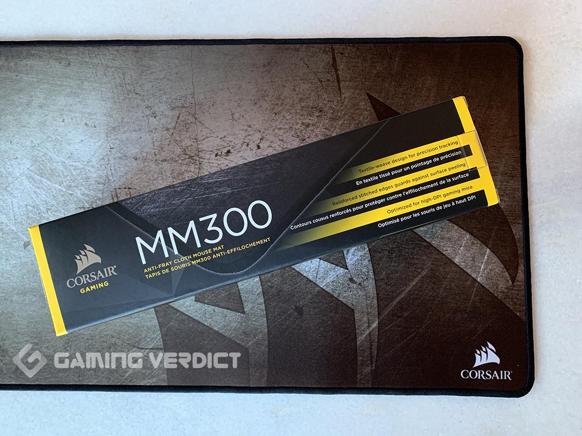 corsair mm300 mouse pad review