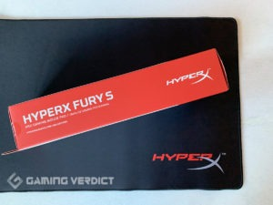 hyperx fury gaming mousepad review