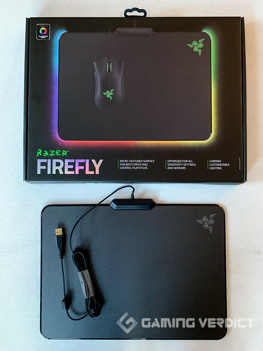 razer firefly mouse pad review