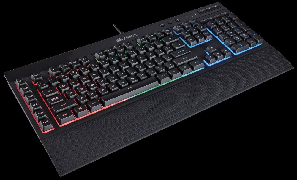 corsair k55 keyboard review